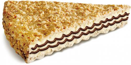 """""""Знак вкуса""""- вафли с нежной шоколадной начинкой в глазури с арахисом"""