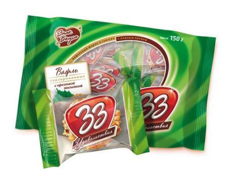 33 удовольствия с ореховой посыпкой
