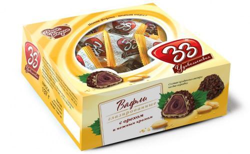 33 удовольствия с орехом коробка