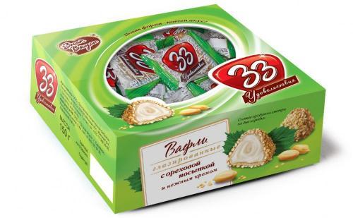 33 удовольствия с посыпкой 150 г коробка
