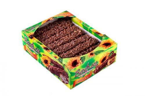 Вафли с халвой глазированные с арахисом и воздушным рисом 480 г