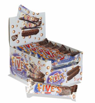 Five's вафли глазированные с воздушным рисом