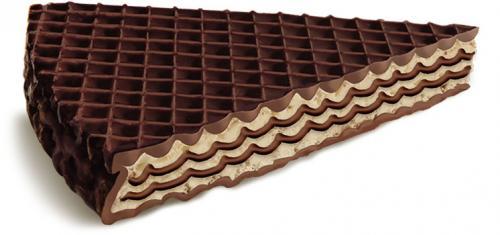 Знак вкуса вафли с нежной шоколадной начинкой в глазури вес